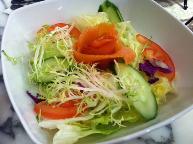 Smoked Salmon Salad at UCC Cafe