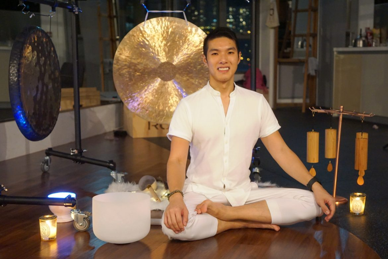 Meet Malbert Lee, Hong Kong sound meditation expert - Healthy Hong