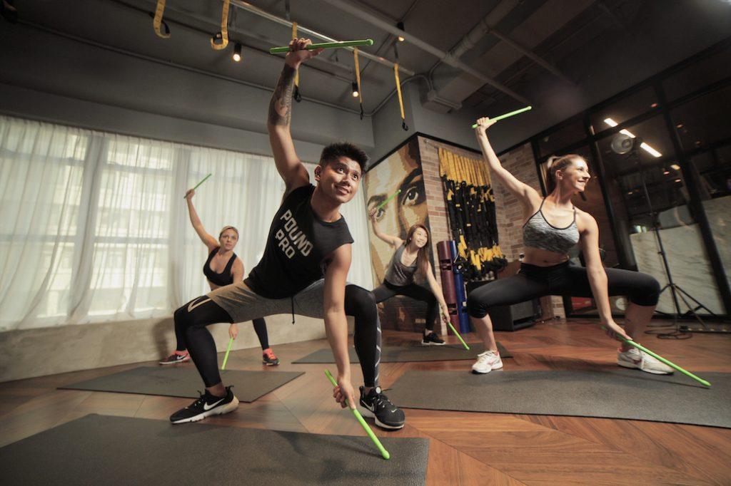 pound workout xp fitness hub hong kong