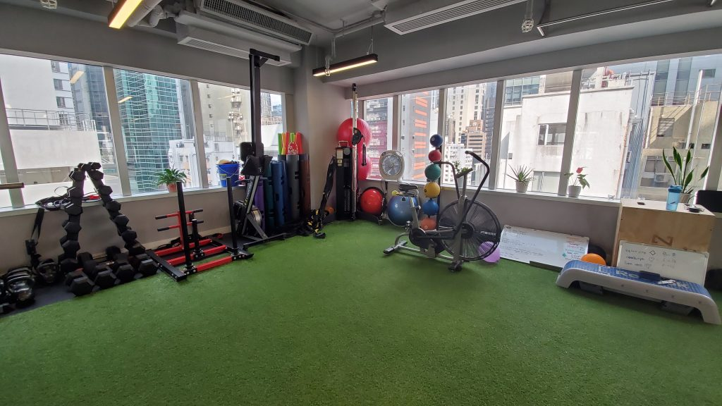 Precision Fitness Hong Kong gym corner