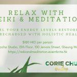 Corie Chu Healing Hong Kong Meditation