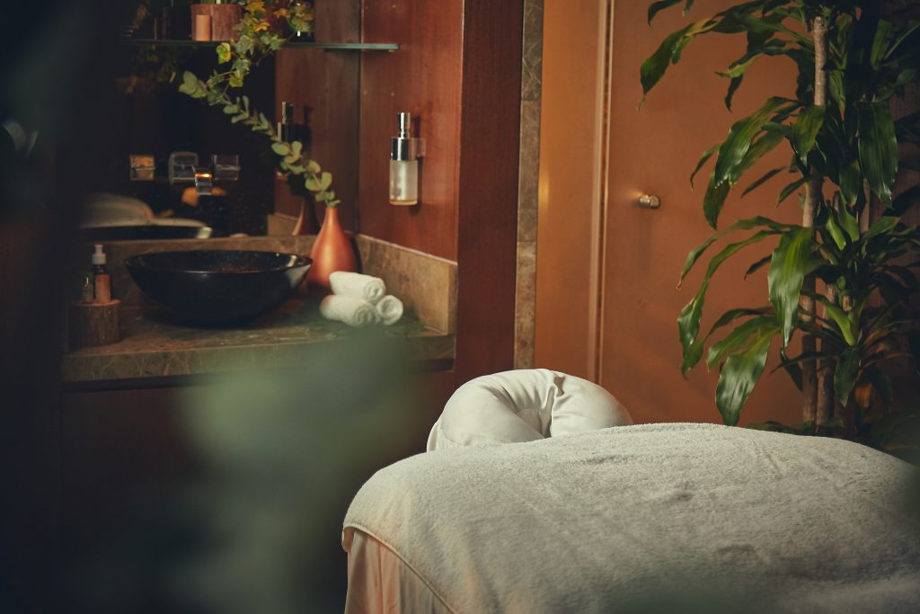 Forest Therapy massage treatment at The Oriental Spa, Hong Kong