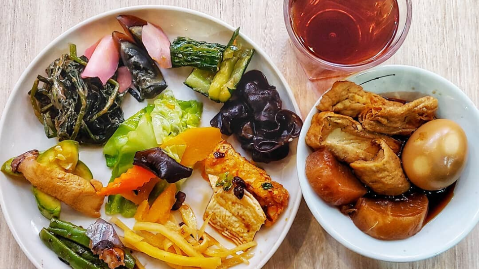 Vegetarian Buffets in Hong Kong - Healthy HKG