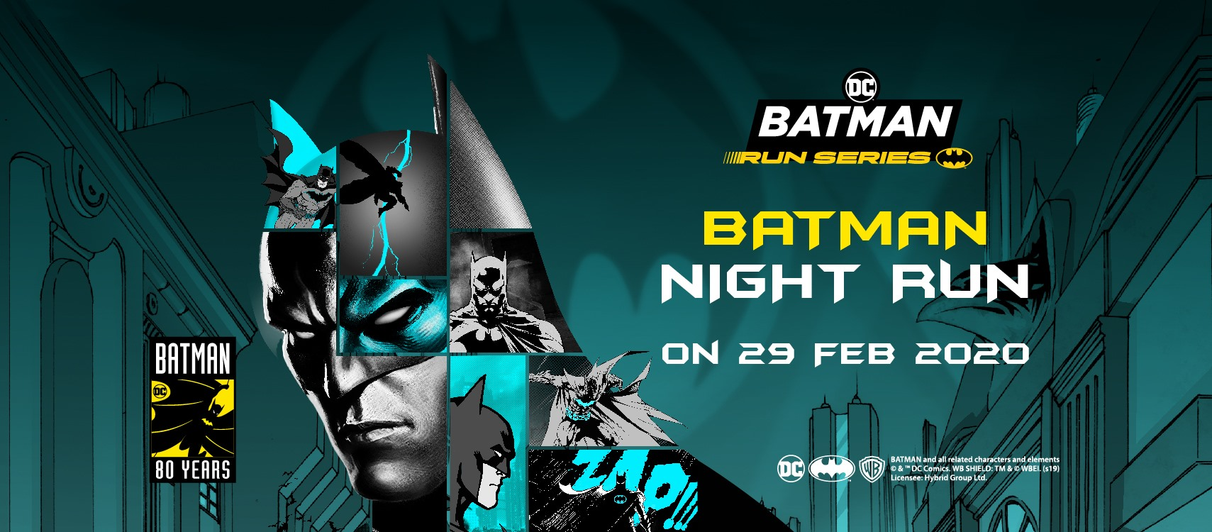 Batman Night Run Hong Kong