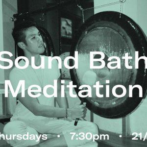 Sound Bath Malbert Lee Eaton HK