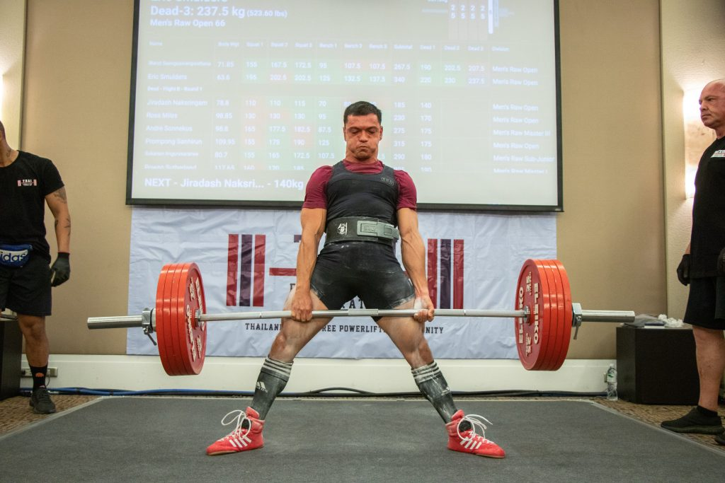 eric smulders thai powerlifting champion