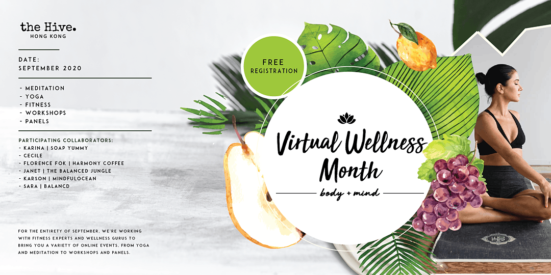 the hive virtual wellness month