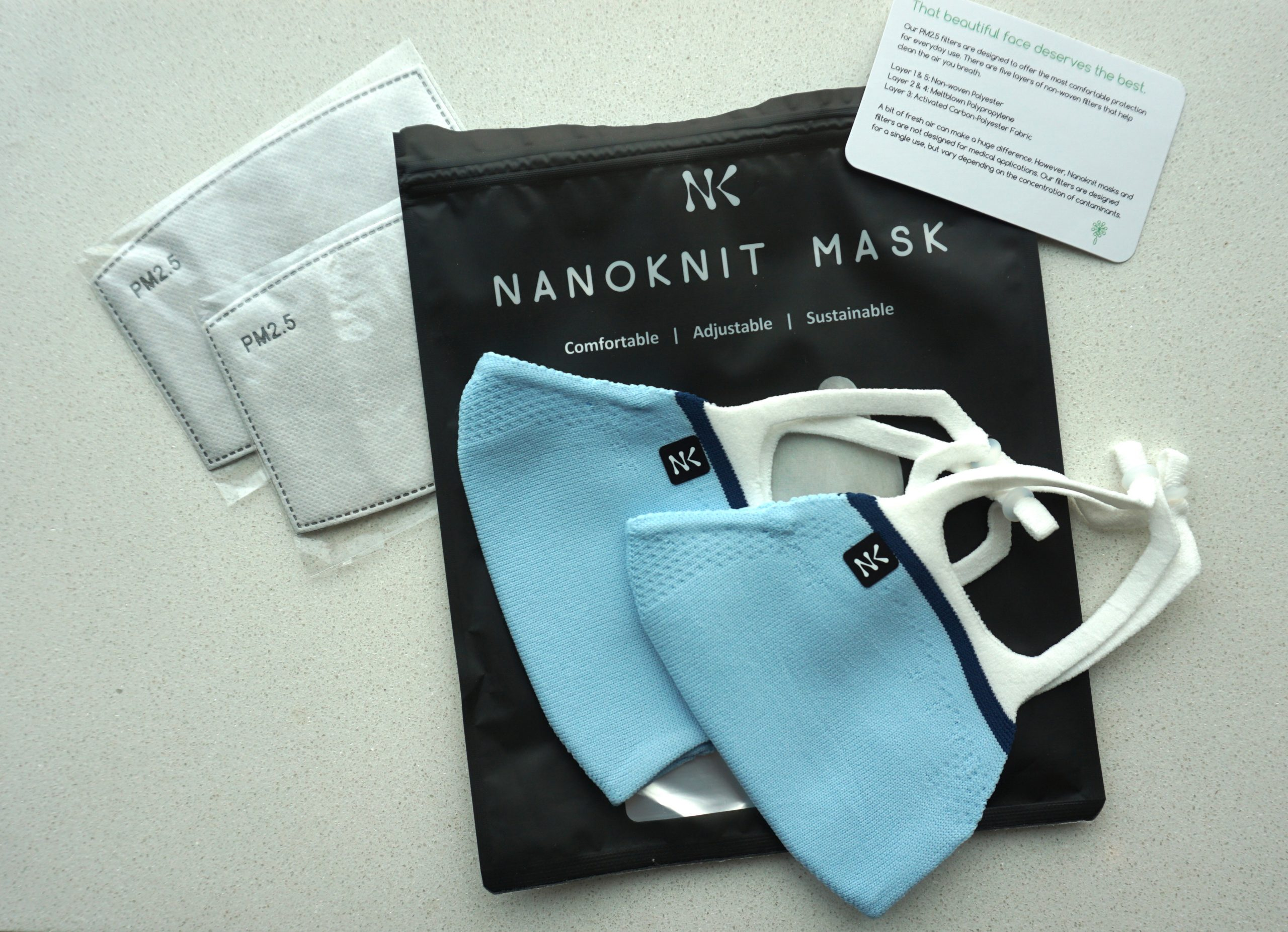 NanoKnit Reusable Masks