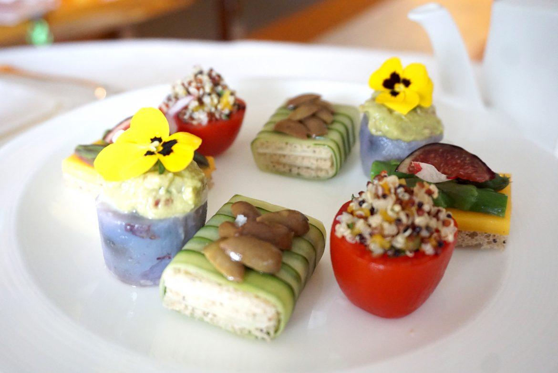 vegan afternoon tea four seasons hong kong DSC06467